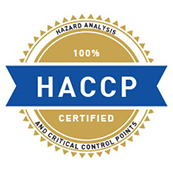 HACCP Certified For Safety